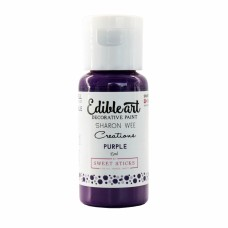 Edible Art Decorative Paint - Purple by Sharon Wee Creations - by Sweet Sticks