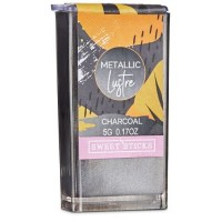 Metallic Luster Dust - Charcoal by Sweet Sticks