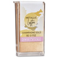 Metallic Luster Dust - Champagne Gold by Sweet Sticks