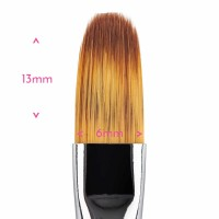 Food Grade Premium Quality Brush - Filbert Brush #  2 by Sweet Sticks