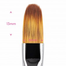 Food Grade Premium Quality Brush - Filbert Brush #  2 by Sweet Sticks