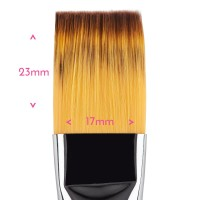 Food Grade Premium Quality Brush - Flat Brush #  12 by Sweet Sticks