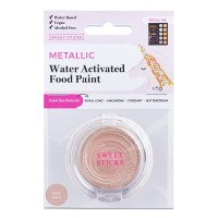 Water Activated Food Paint - Metallic Rose Gold by Sweet Sticks