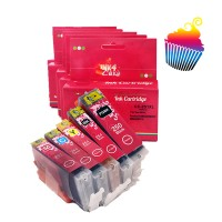 Canon Edible Ink Cartridges set 250/251 XXL by Ink4 cakes