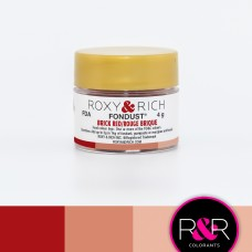 Colouring Fondust Brick Red by Roxy & Rich