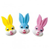 Small Bunny Head Assortment DEC-ONS by Lucks
