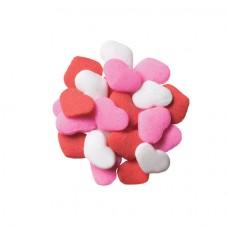 Décorettes Mini Coeurs Roses, Rouges et Blancs de Lucks