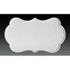 Decorative Plaque with Border by Decopac