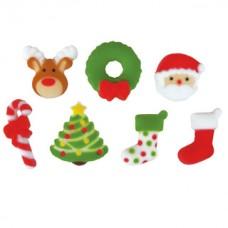 Sucre Dec-ons Joie de Noël Assortiment de Lucks