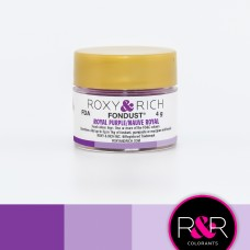 Colouring Fondust Royal Purple  by Roxy & Rich