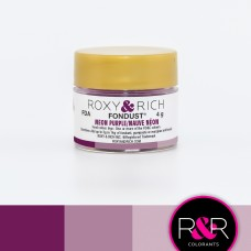 Colouring Fondust Neon Purple by Roxy & Rich