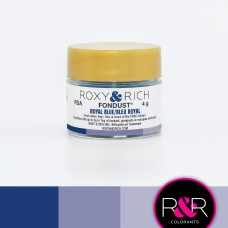 Colouring Fondust Royal Blue  by Roxy & Rich