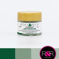Colouring Fondust Forest Green by Roxy & Rich