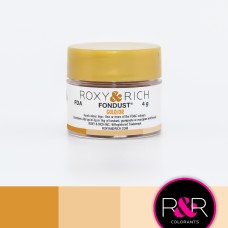 Colouring Fondust Gold by Roxy & Rich
