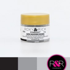 Colouring Fondust Super Black by Roxy & Rich