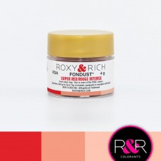 Colouring Fondust Super Red by Roxy & Rich