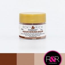 Colouring Fondust Chocolate Brown by Roxy & Rich