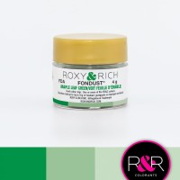 Colouring Fondust Maple Leaf Green by Roxy & Rich