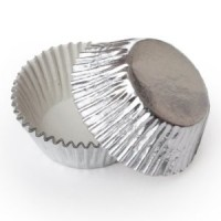 Mini Foil Baking Cup - Silver