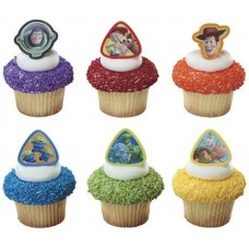 Cupcake Rings Toy story Large Decoring by Decopac