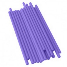 Lollipops Plastic Sticks 4.5'' x 5/32'' - Purple