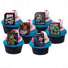 Cupcake Ring Monster High Ghoulfriends Decoring by Decopac