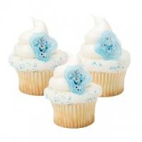 Disney Frozen Adventure Olaf Cupcake Rings Decoring by Decopac