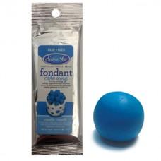 Fondant à rouler Satin Ice Bleu Vanille - Pâte à sucre 125 g