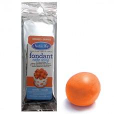 Fondant à rouler Satin Ice Orange Vanille - Pâte à sucre 125 g