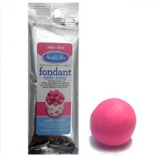 Fondant à rouler Satin Ice Rose Vanille - Pâte à sucre 125 g