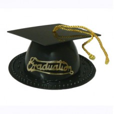 Graduation Hat - Black