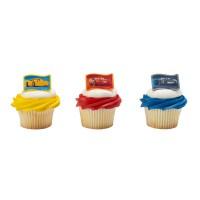 Cupcake Rings Cars 3: New Generation Decorings by Decopac