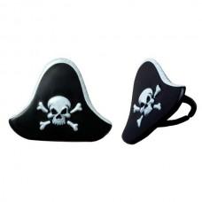 Cupcake Rings Pirate Hat Decoring by Decopac