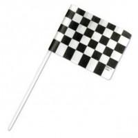 Checkered Flag Racing Cupcake Picks by DecoPac