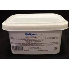 Fondant àrouler Mimac Blanc - Pâte à sucre - 1 kg