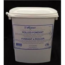 Fondant àrouler Mimac Blanc - Pâte à sucre - 5 kg