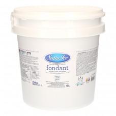 Fondant à rouler Satin Ice Blanc Vanille - Pâte àsucre 10 kg