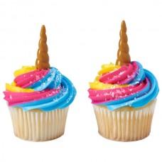 Pics à Cupcakes Corne de Licorne de Decopac