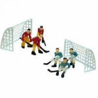 Kit of Hockey Players and Nets by Vincent Sélection