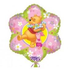 Ballon Mylar Winnie L'Ourson Jr. Shape de Anagram