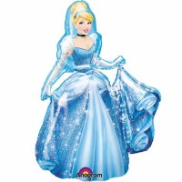 Ballon SuperShape Mylar Princesse Cendrillon (2 faces) de Anagram