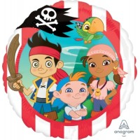 Ballon Mylar Jake et les Pirates du Pays Imaginaire de Anagram