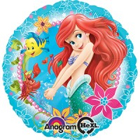 Mylar Balloon Princess Ariel, The Little Mermaid by Anagram