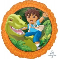 Mylar Balloon Go Diego Go by Anagram