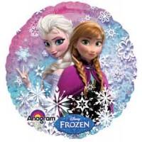 Ballon Mylar Princesse Elsa & Anna - La Reine Des Neiges de Anagram