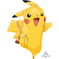 Ballon SuperShape Mylar Pikachu de Anagram