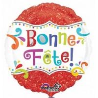 Ballon Mylar Bonne Fête Brillant de Anagram