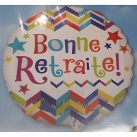 Ballon Mylar Bonne Retraite de Anagram