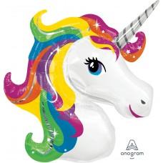 Mylar Balloon Rainbow Unicorn by Anagram
