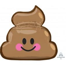 Mylar Balloon Emoticon Poop by Anagram